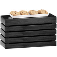 Cal-Mil 1943-11-96 Midnight Rectangle Crate Riser - 20 inch x 7 inch x 11 inch