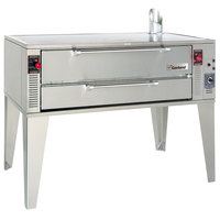 Garland GPD48 Natural Gas 63 inch Pyro Deck Pizza Oven - 96,000 BTU