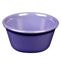 Thunder Group ML538BU1 Purple 4 oz. Smooth Melamine Ramekin - 12/Case