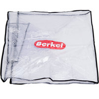Berkel SLCRCVR-LG Clear Vinyl Slicer Cover with Black Border - 27 inch x 23 inch x 20 inch