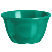 Carlisle 4305009 Durus 7 oz. Meadow Green Melamine Bouillon Cup - 48/Case