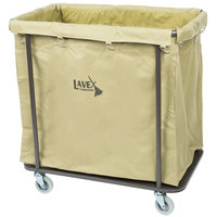 Lavex Laundry Cart / Trash Cart, 14 Bushel Metal Frame with Canvas Bag