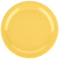 Carlisle 4385022 Honey Yellow Dayton 10 1/4 inch Melamine Plate - 48/Case
