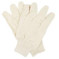 Premium Ramie / Cotton Blend Canvas Gloves - Large - 12/Pack