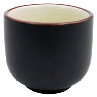 CAC 666-WC-W Japanese Style 1.5 oz. China Sake Cup - Creamy White - 72/Case