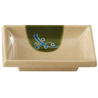 GET 025-TD Japanese Traditional 2 oz. Sauce Dish 4 inch x 2 inch - 24/Case