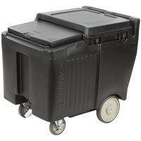 Cambro ICS125LB110 SlidingLid™ Black Portable Ice Bin - 125 lb. Capacity