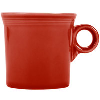 Homer Laughlin 453326 Fiesta Scarlet 10.25 oz. Mug - 12/Case