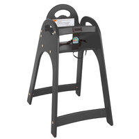 Koala Kare KB105-02 Black Assembled Designer High Chair