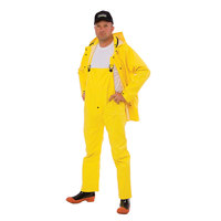 Yellow 3 Piece Rainsuit - XXL