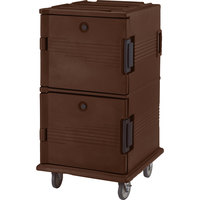 Cambro UPC1600131 Dark Brown Camcart Ultra Pan Carrier - Front Load
