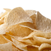 Snyder's of Hanover White Triangular Corn Chips 1 lb. Bags - 6/Case