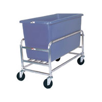 Winholt 30-8-SS/BL Stainless Steel Bulk Mover with 8 Bushel Blue Tub