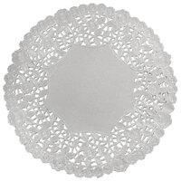 10 inch Silver Foil Lace Doily - 500 / Case