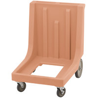 Cambro CD1826MTCHB157 Coffee Beige Camdolly for Cambro 1826MTC Tray and Sheet Pan Camcarrier