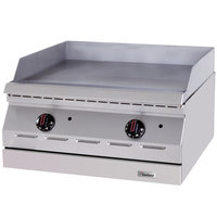 Garland ED-24G Designer Series 24 inch Electric Countertop Griddle - 240V, 1 Phase, 6.7 kW