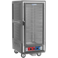 Metro C537-CFC-U-GY C5 3 Series Heated Holding and Proofing Cabinet with Clear Door - Gray