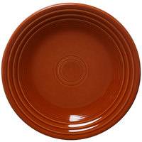 Homer Laughlin 466334 Fiesta Paprika 10 1/2 inch Dinner Plate - 12 / Case