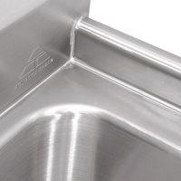 advance tabco 9 23 60 24 super saver three compartment pot sink with - Three Compartment Kitchen Sink