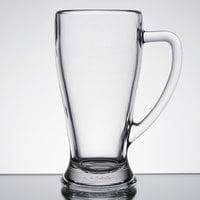 Anchor Hocking 133450 22 oz. (16 3/4 oz. Mark) Handled Beer Mug - 6/Case
