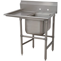Advance Tabco 94-1-24-24 Spec-Line One Compartment Pot Sink with One Drainboard - 46 inch