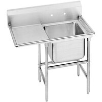 Advance Tabco 94-41-24-24 Spec Line One Compartment Pot Sink with One Drainboard - 54 inch