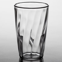 Carlisle 4366207 Swirl 5 oz. Clear Polycarbonate Tumbler - 36/Case