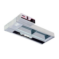 APW Wyott FDL-42L-I 42 inch Lighted Calrod Food Warmer with Infinite Controls - 835 Watt