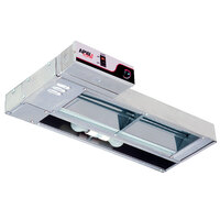 APW Wyott FDL-66H-I 66 inch High Wattage Lighted Calrod Food Warmer with Infinite Controls - 2040 Watt