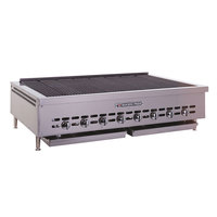 Bakers Pride XX-4 Gas Radiant Charbroiler Low Profile 21 inch - 72,000 BTU