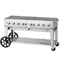 Crown Verity MCB-60 Outdoor BBQ Grill / Charbroiler - Portable