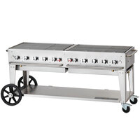Crown Verity MCB-72 Outdoor BBQ Grill / Charbroiler - Portable