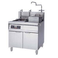 Frymaster 17SMS Pasta Magic Electric Pasta Cooker with Automatic Timed Basket Lifter and Separate Rinse Tank 17 kW