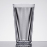 Carlisle 401607 Crystalon Stack-All 16.2 oz. Clear SAN Plastic Tumbler - 12/Case