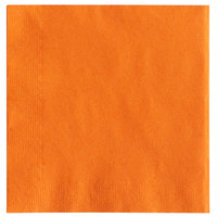 Choice 10 inch x 10 inch Customizable Orange 2-Ply Beverage / Cocktail Napkins - 1000/Case