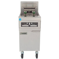 Frymaster RE14-SD 50 lb. High Efficiency Electric Floor Fryer - 14 KW