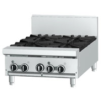 Garland GF24-2G12T 2 Burner Modular Top 24 inch Gas Range with Flame Failure Protection and 12 inch Griddle - 70,000 BTU