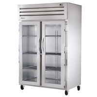 True STG2R-2G Specification Series Two Section Glass Door Reach In Refrigerator