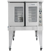 Garland MCO-GS-10S Single Deck Standard Depth Full Size Convection Oven with Analog Controls - 60,000 BTU