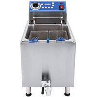 Globe GPC16 Electric Countertop Pasta Cooker / Boiling Unit - 3800W