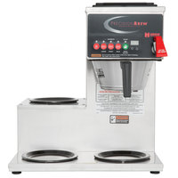 Grindmaster B-3WL PrecisionBrew Digital 64 oz. Automatic Coffee Brewer with 3 Warmers - Left Side
