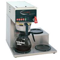 Grindmaster B-3WR PrecisionBrew Digital 64 oz. Automatic Coffee Brewer with 3 Warmers - Right Side
