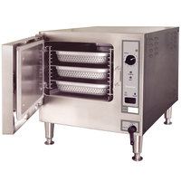 Cleveland 22CET3.1 SteamChef 3 Pan Electric Countertop Steamer - 12 kW