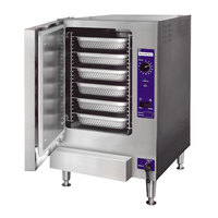 Cleveland 22CET6.1 SteamChef 6 Pan Electric Countertop Steamer - 12 kW