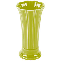 Homer Laughlin 491332 Fiesta Lemongrass 9 5/8 inch Medium Vase - 4/Case