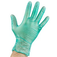 General Purpose Disposable Vinyl Glove 6.5 Mil Small - Green