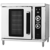 Hobart HGC20 Single Deck Half Size Gas Convection Oven - 25,000 BTU