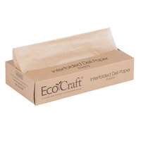 Bagcraft Papercon 016010 10 3/4 inch x 10 inch EcoCraft Interfolded Dry Wax Deli Paper