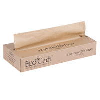 Bagcraft Packaging 016012 12 inch x 10 3/4 inch EcoCraft Interfolded Deli Wrap