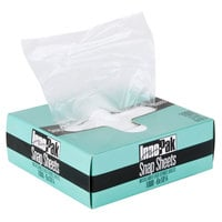 10 3/4 inch x 6 inch Plastic Deli Wrap and Bakery Wrap